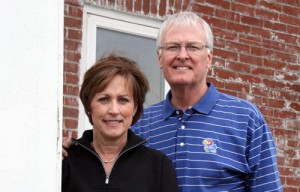 Dr. Grant Larkin and his wife, Kathy, have taken over the McLouth Dental Clinic which reopened on Monday. Kathy is a registered nurse and will help with the bookkeeping at the office.