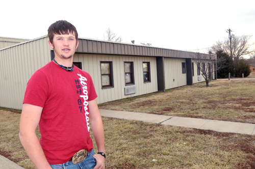 Jefferson West junior Kelby Mestagh is leading the FFA chapter this year with plans to celebrate National FFA Week.