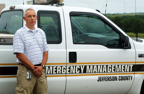 Mike Baxter has been named the county's new emergency management director.
