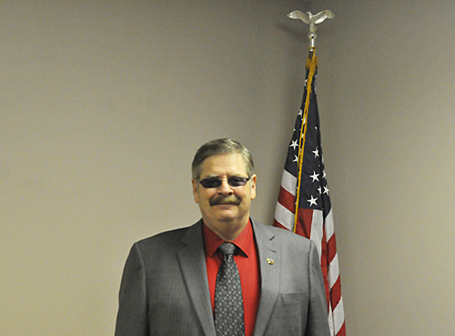 Detective Jerry Greene retired from the Jefferson County sheriff's office last week. He served the office for over 30 years. Greene plans to continue working for the sheriff part-time in the future.Photo by Jared Speckman
